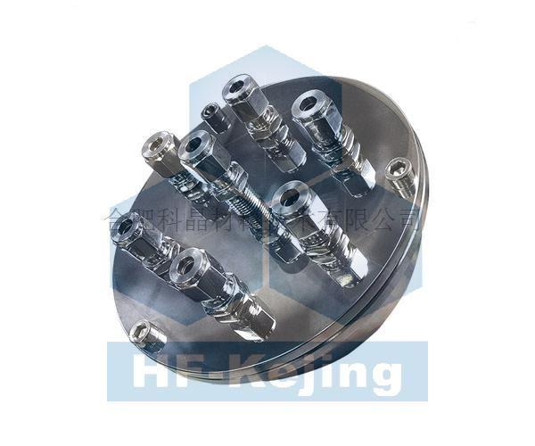 合肥科晶 EQ-FL100-7FTR电极法兰