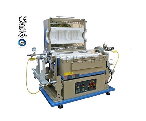 合肥科晶 OTF-1200X-IR-IISL 900℃ 双温区RTP炉