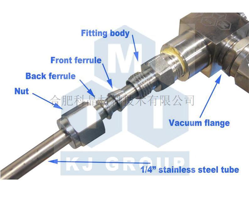 合肥科晶 Φ6.35不锈钢管