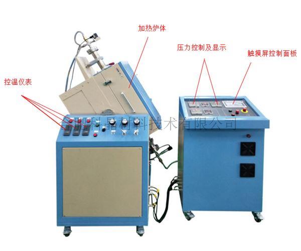合肥科晶 OTF-1200X-HRP-III 高压摇摆管式炉(高温合金钢管,1100℃)