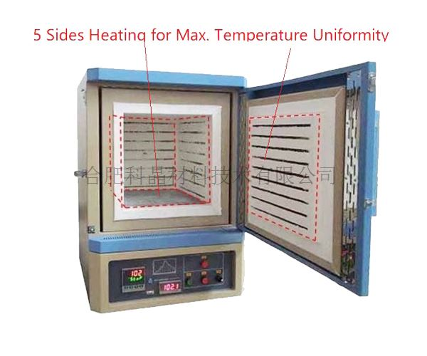 合肥科晶 KSL-1200X-5L-UL 1200℃箱式气氛炉(64L)