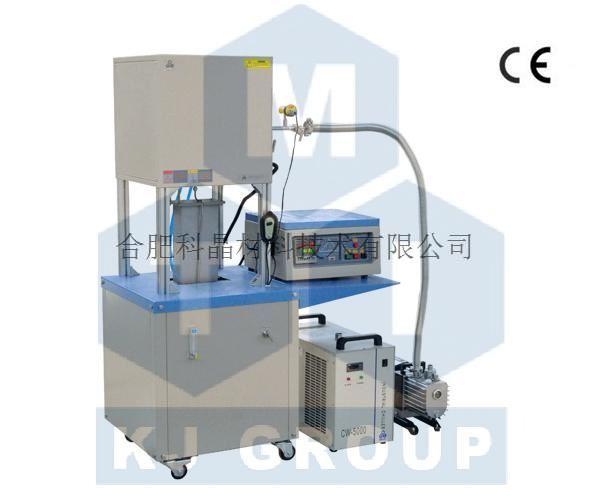 合肥科晶 VBF-1200X-E8 1100℃电动升降真空立式炉