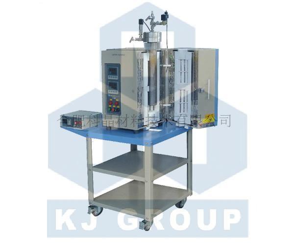 合肥科晶 OTF-1200X-II-HPV 1100℃双温区立式高温高压炉