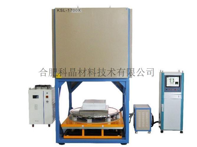 合肥科晶 KSL-1700X-G216 1650℃下装载式气氛箱式炉
